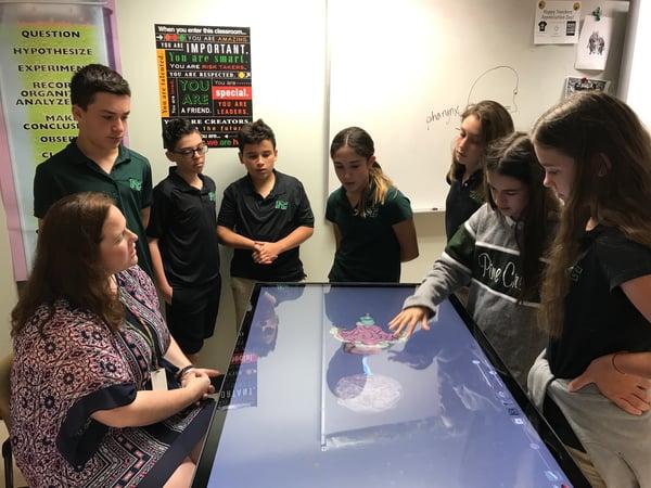 Anatomage table - cowan