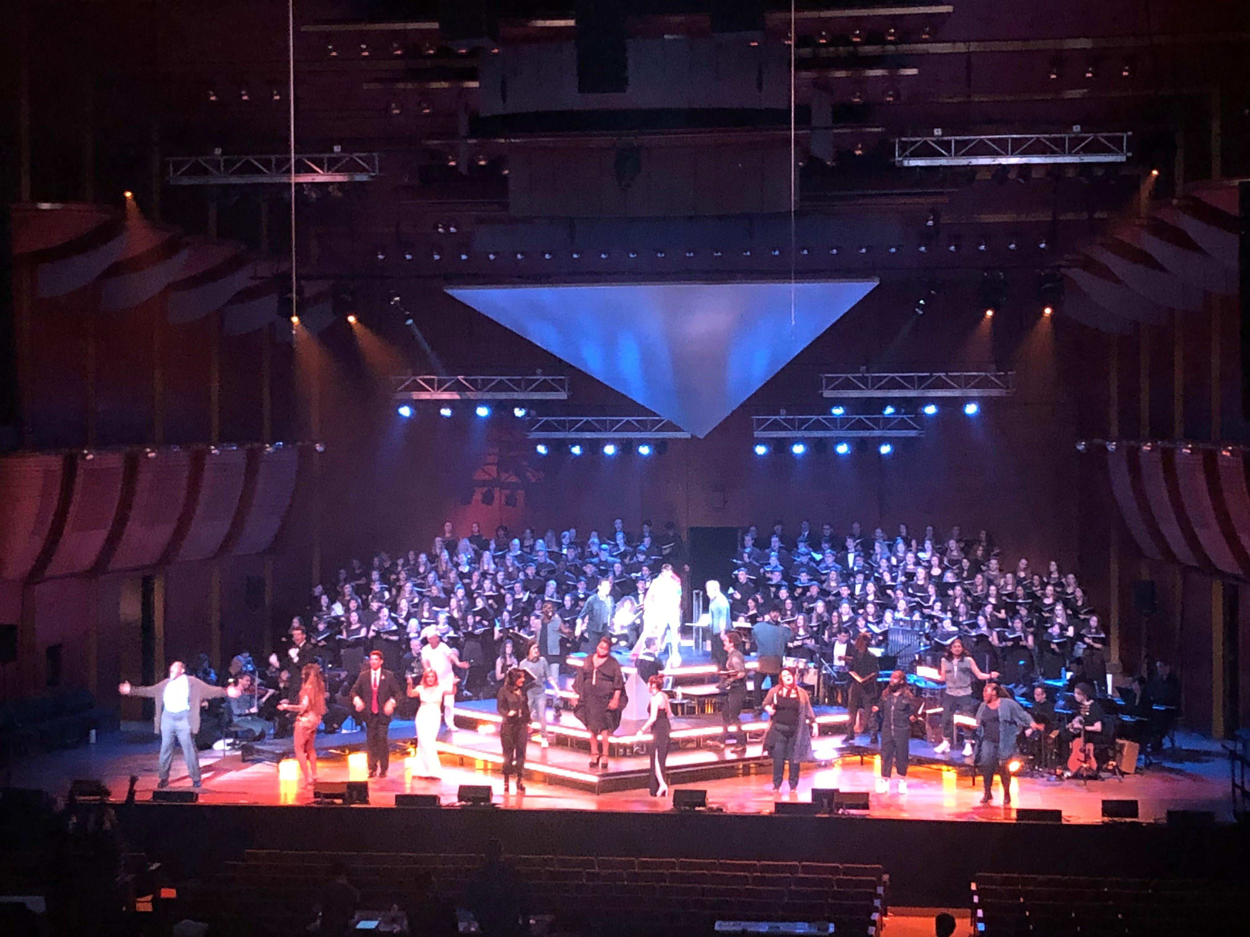 US Chorus 22020 Lincoln Center NYC Joseph Technicolor Dreamcoat