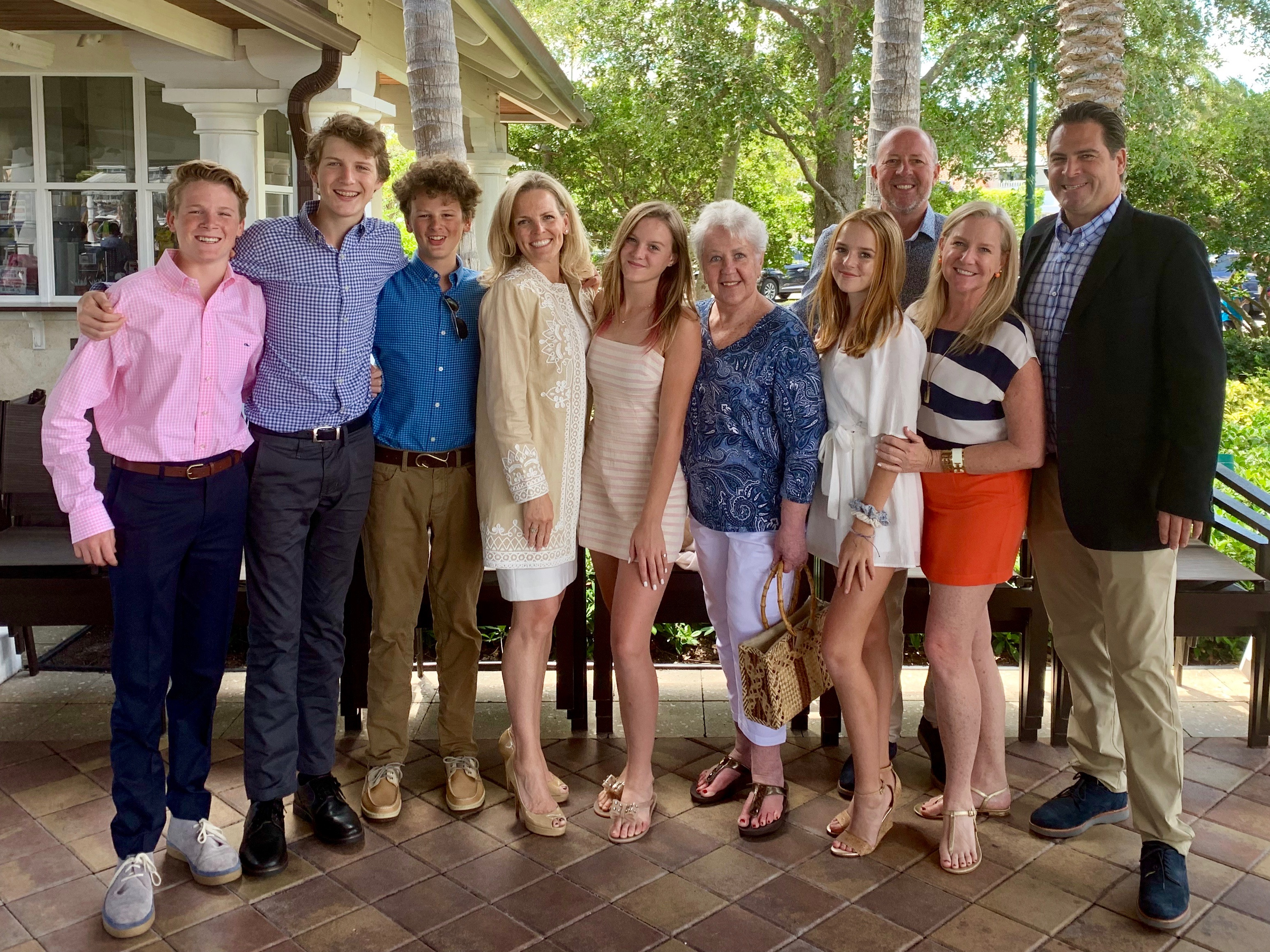 Family with Bonnie Huizenga