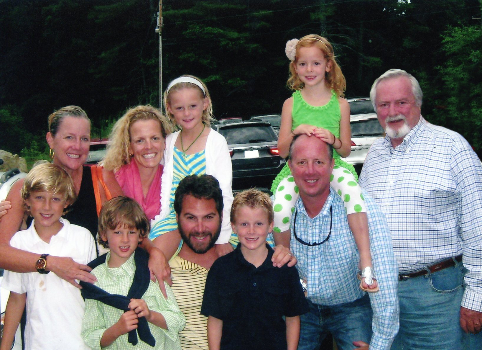 Family with Whit Hudson
