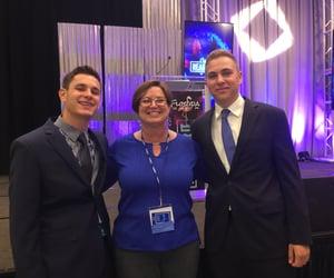 Harris, Mrs Venne, and Ethan
