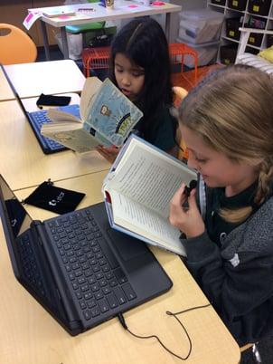 literacy digital portfolio