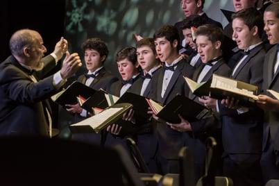 upper school mens chorus