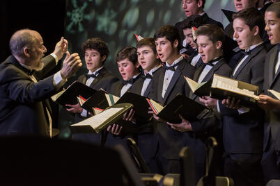 upper school mens chorus