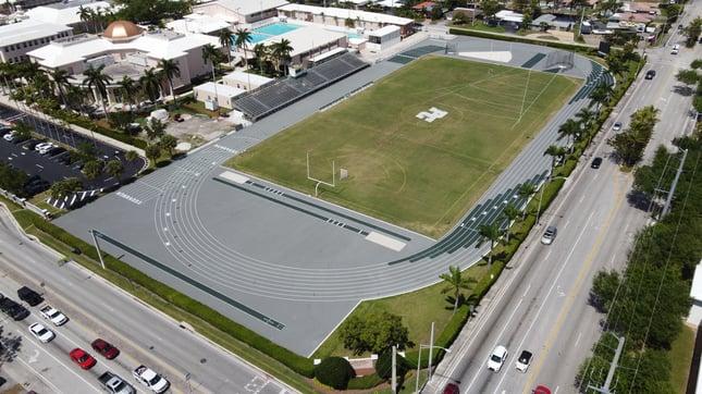 East Campus Athletic Complex Spring 2021 Aerial
