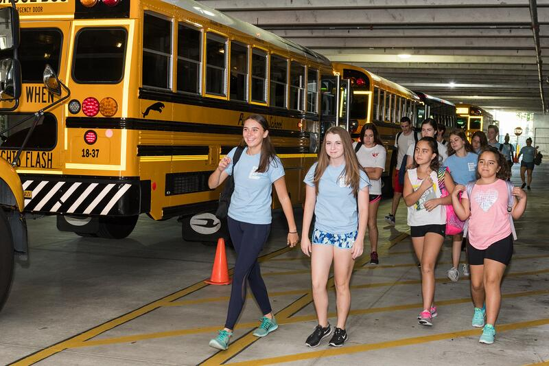 pine crest summer bus transportation