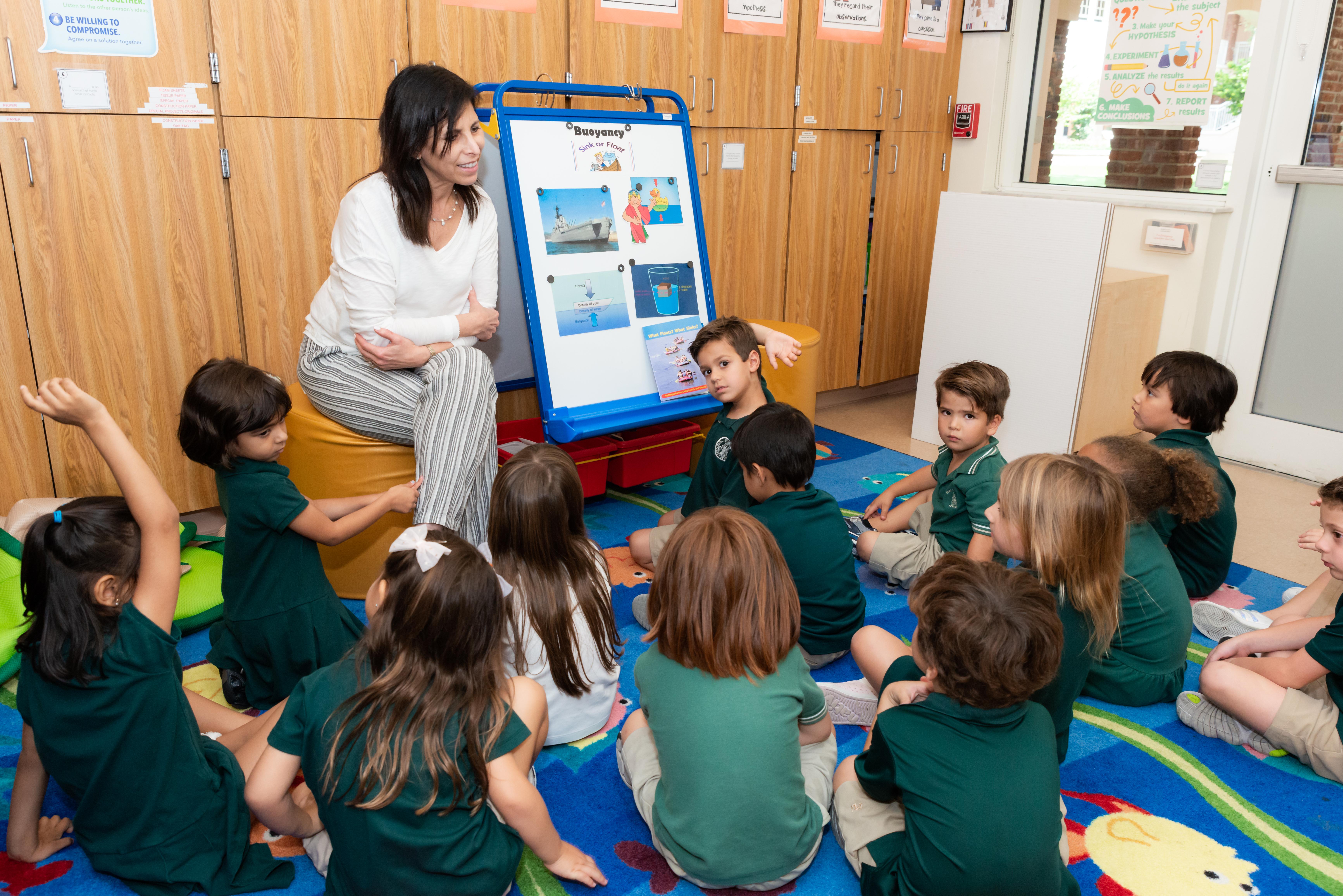 Pre-kindergarten science class
