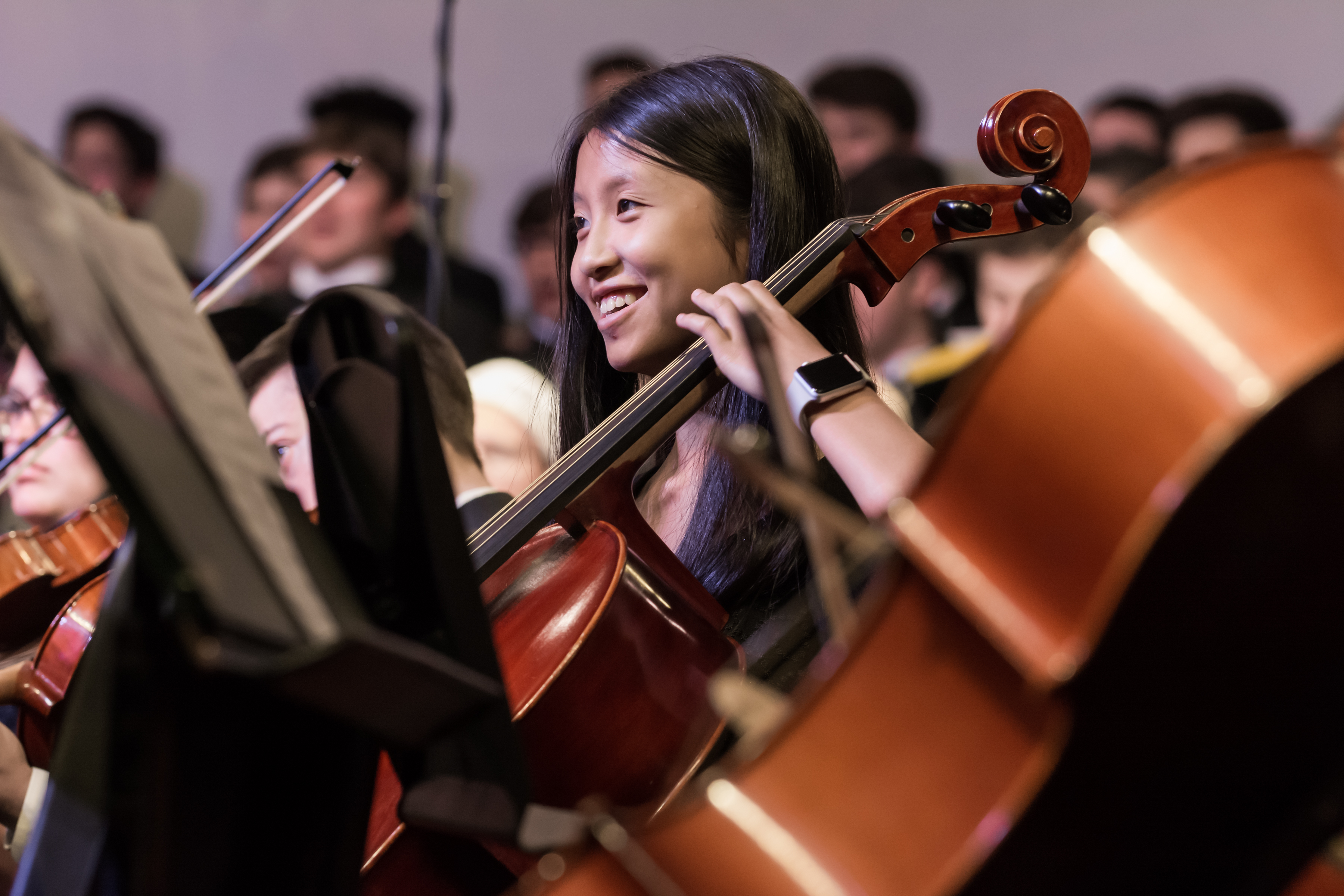 middle school orchestra concert