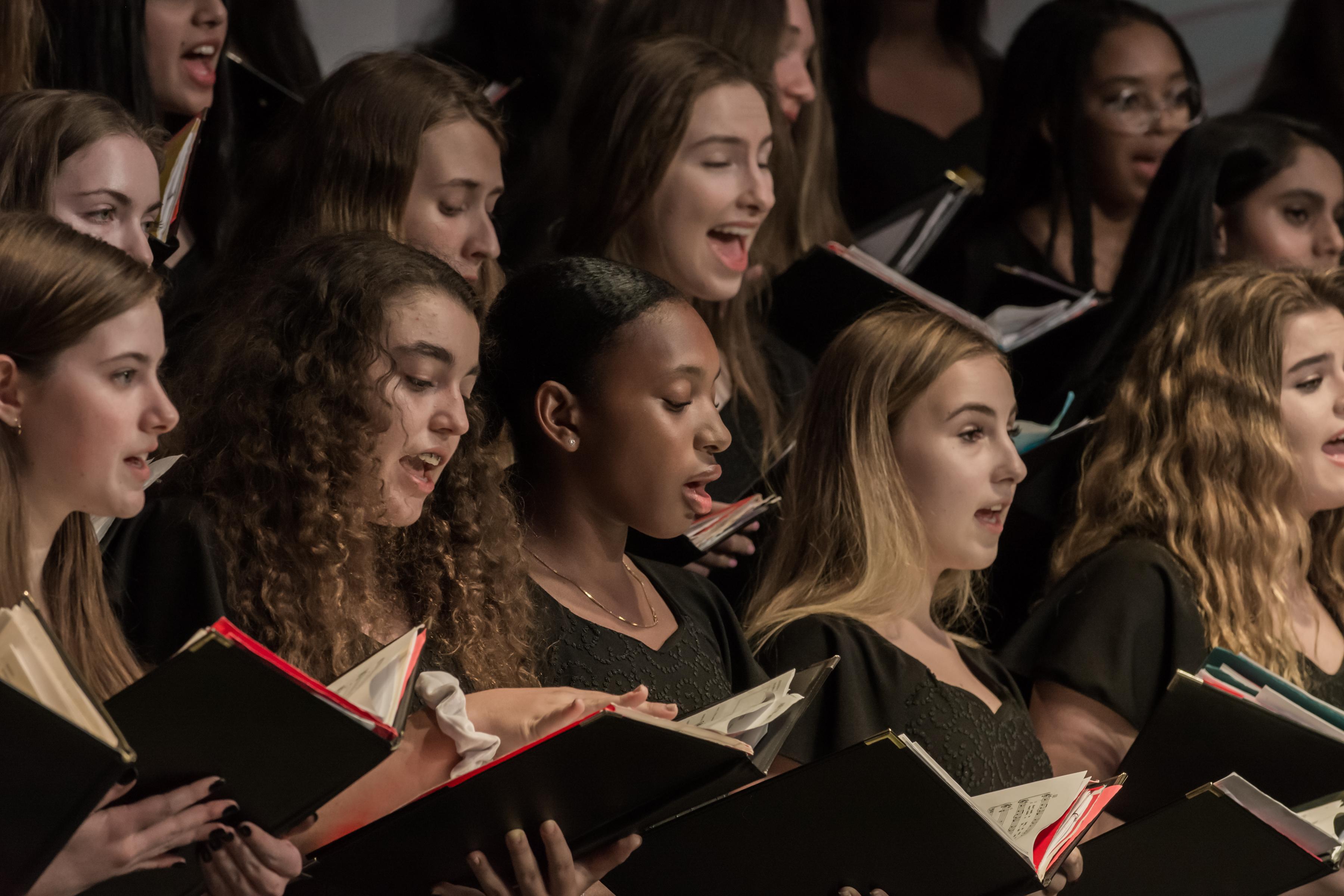 upper school chorus 2