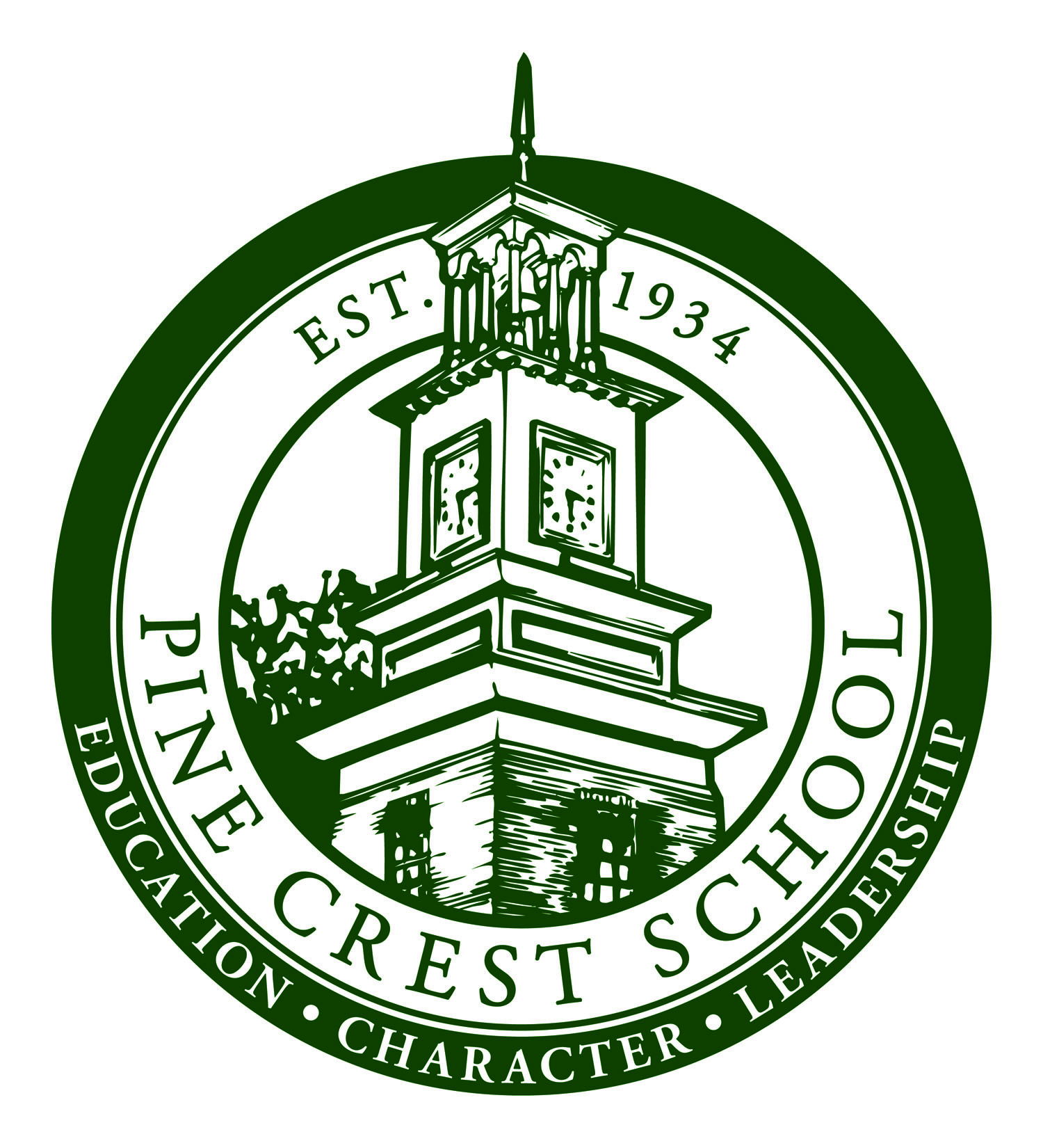 School Seal-Green Small