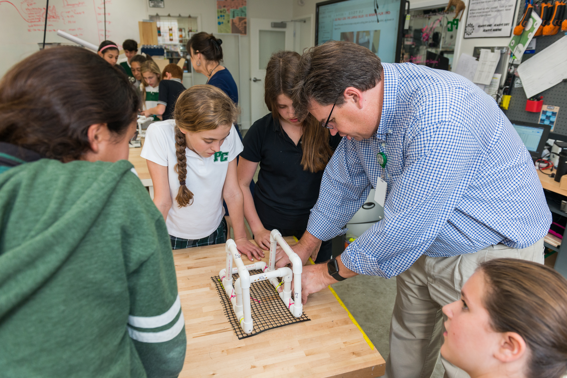 middle-school-students-and-teachers-are-hands-on-in-the-makerspace