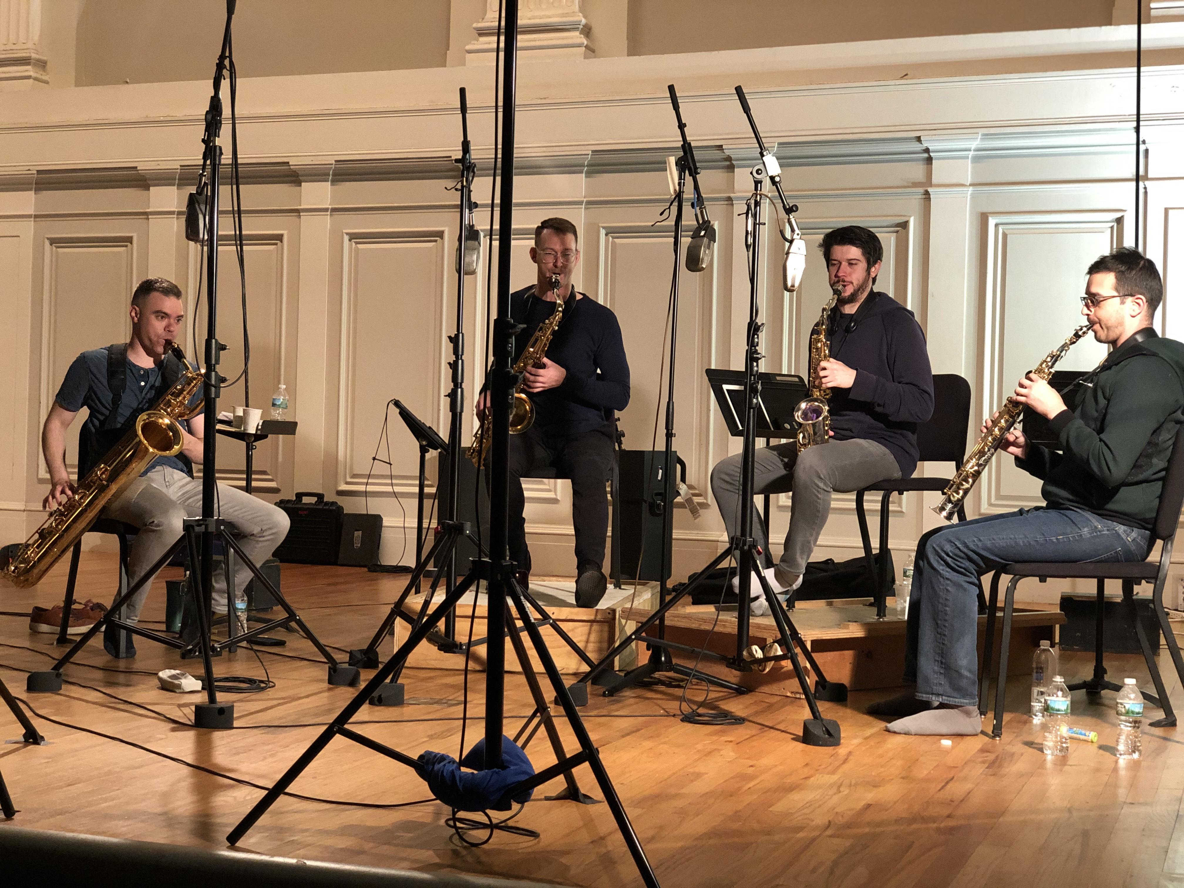 Project Fusion saxophone quartet