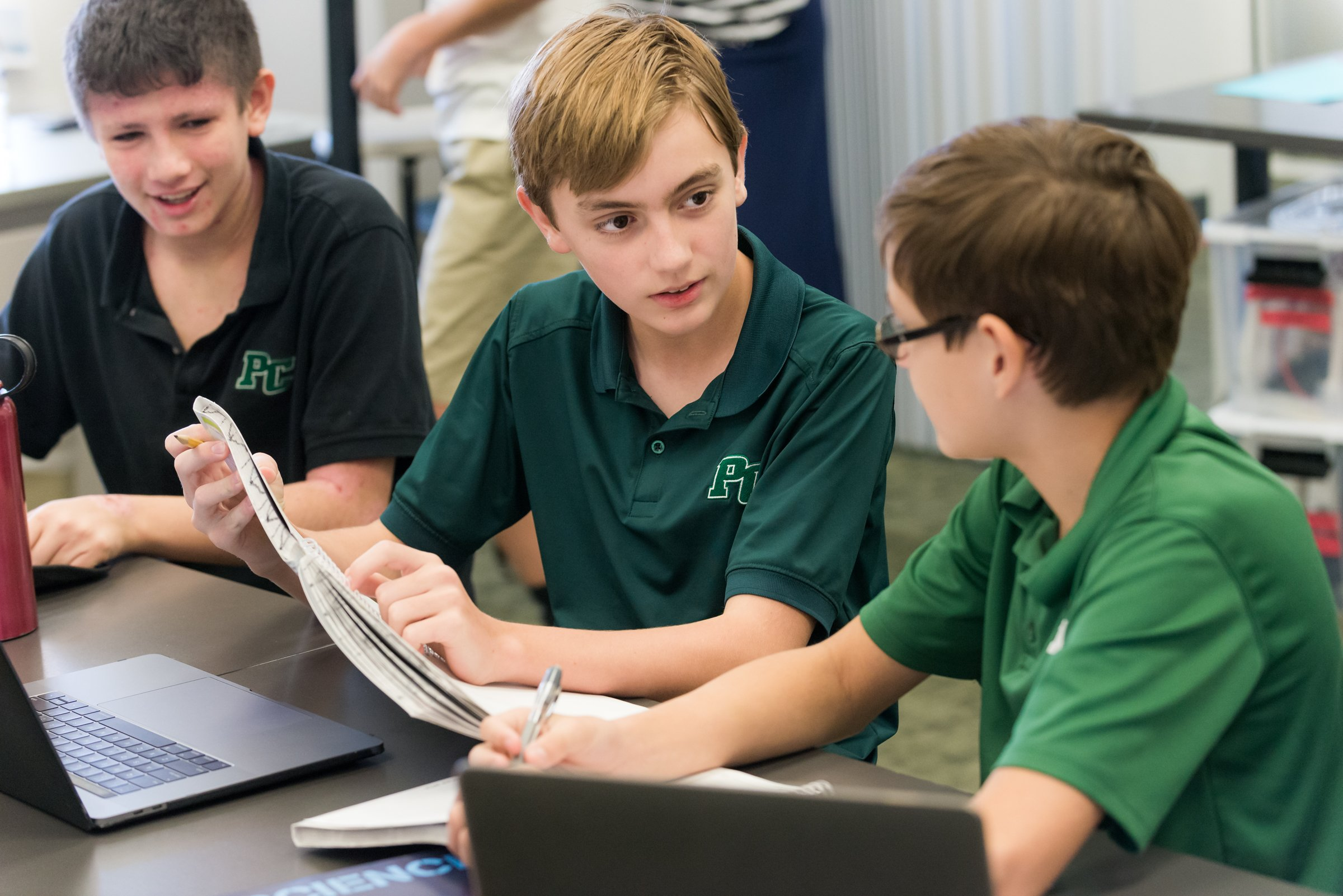 middle-school-students-collaborate
