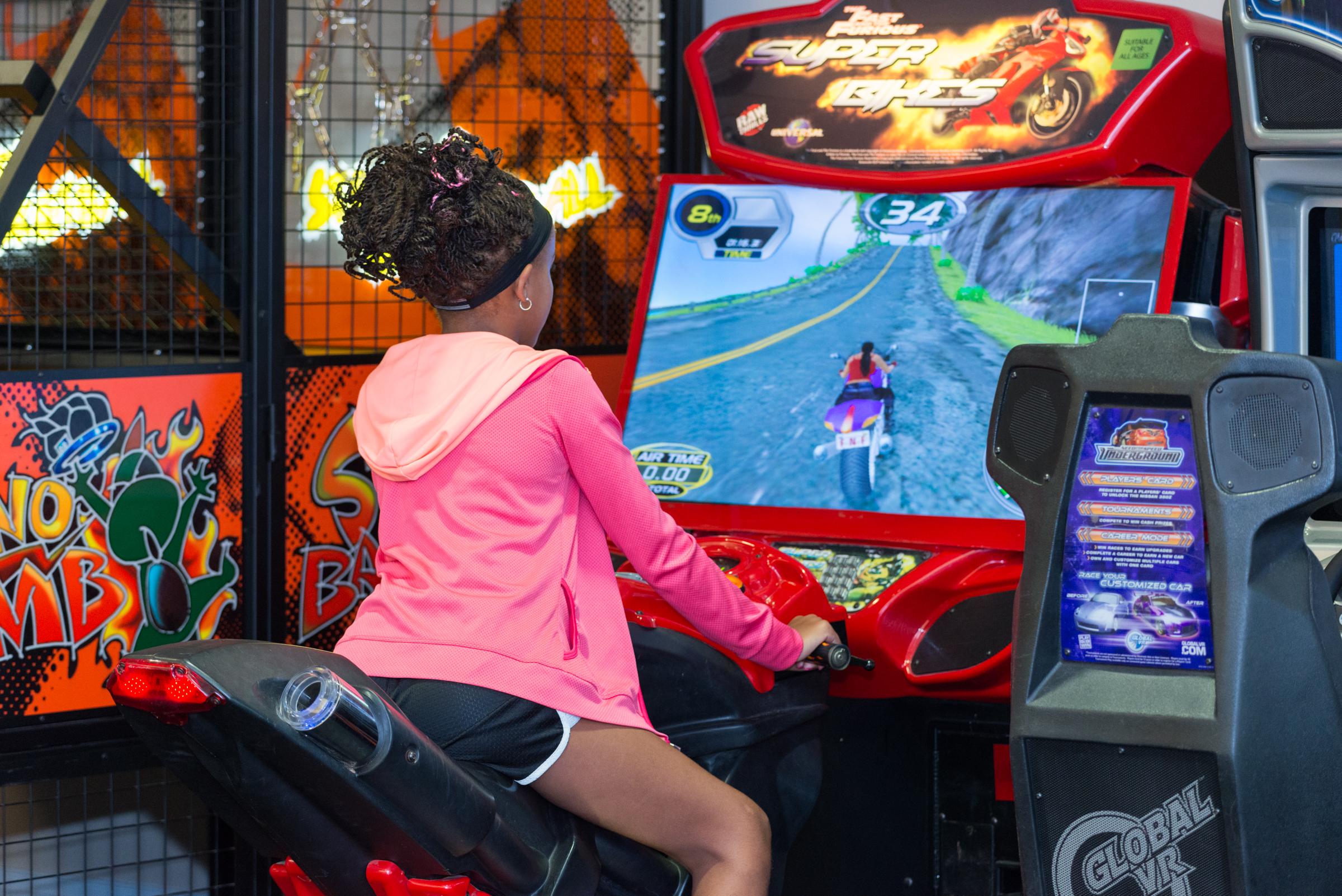 arcade at pine crest summer