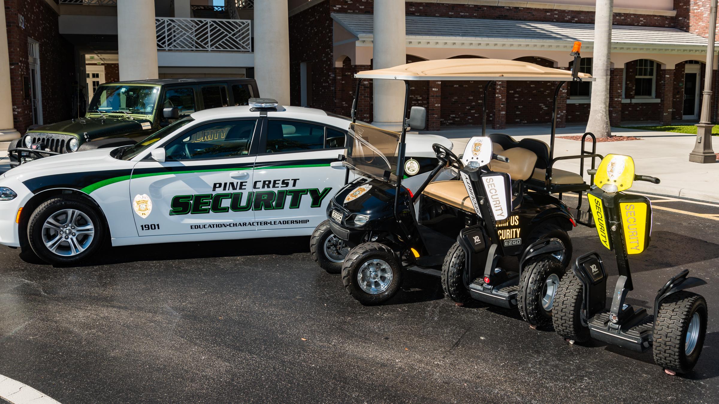 Pine Crest campus security