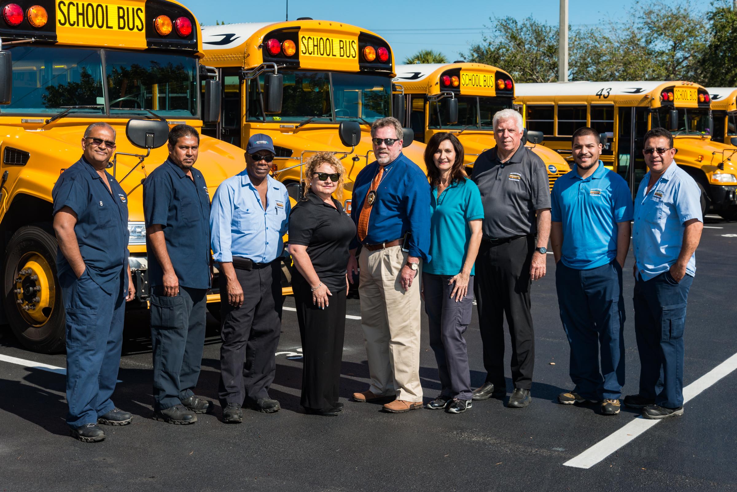 Pine Crest School Transportation Team